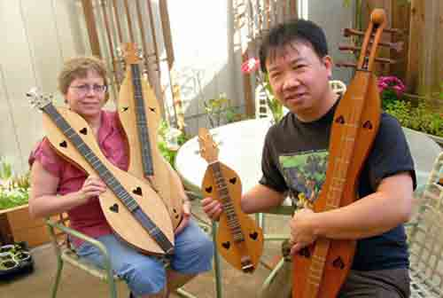 Experience the passionate journey of the California dulcimer.