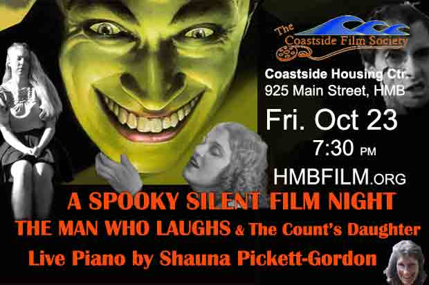 A Night of Creepy Silent Films